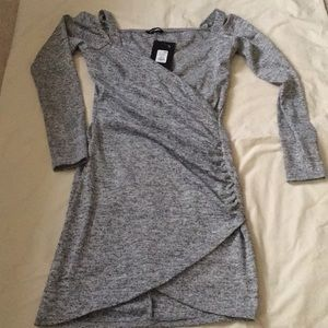 Heather Gray party dress